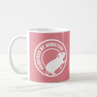 Angetrieben durch Hamster Tasse