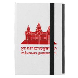 Angkor Wat Kambodschaner/Khmer-Flagge mit Motto Schutzhülle Fürs iPad Mini