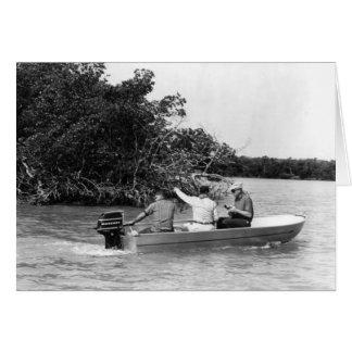 Angler, Marco Island, Florida, 1965 Karten