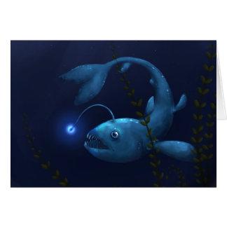 Anglerfish im Unterholz Karte