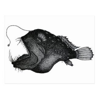 Anglerfishes Postkarten