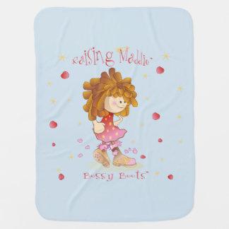 Anheben Maddie der Bossy Stiefel-Decke Kinderwagendecke