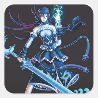 Anime-Piraten-Mädchen Aufkleber