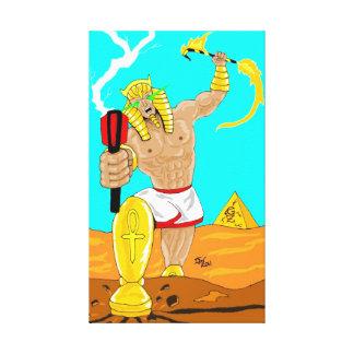 Ankhameth ägyptische Schuft-Leinwand Galerie Falt Leinwand