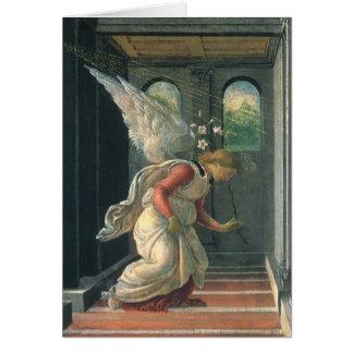 Ankündigung (Engelsdetail) durch Sandro Botticelli