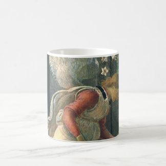 Ankündigung (Engelsdetail) durch Sandro Botticelli Tasse