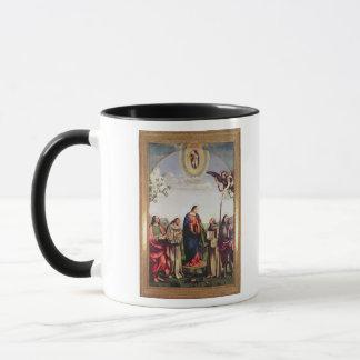 Ankündigung und Heilige, 1500 Tasse