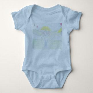 Anmerkungen über den Wand-Baby-Jersey-Bodysuit Baby Strampler