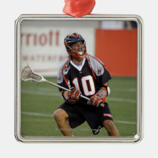 ANNAPOLIS, MD - 13. AUGUST:  Billy bitteres #10 Quadratisches Silberfarbenes Ornament