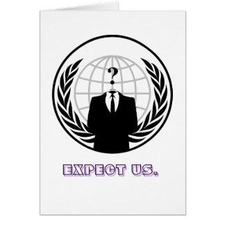 Anonym (wie ein Massennomen) ist ein lose assoc Karte