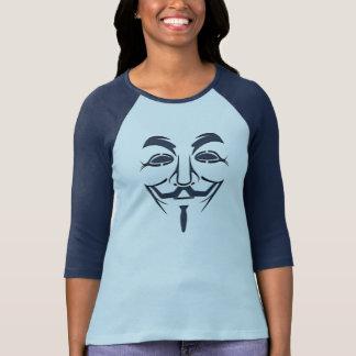 Anonyme Maske T-Shirt