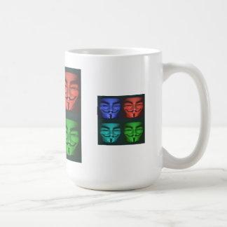 Anonyme POP Kunst-Tasse Tasse