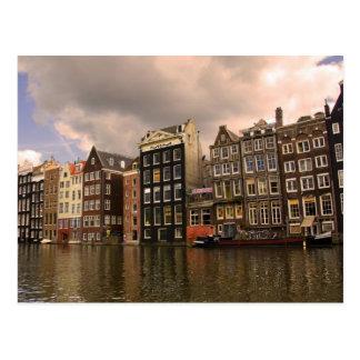 Ansicht der einzigartigen Architektur und Postkarte