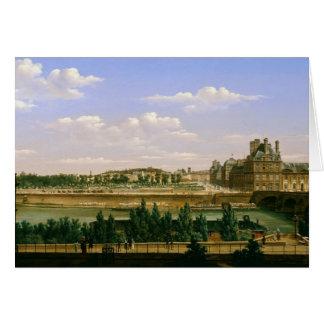 Ansicht der Gärten und des Palastes von Karte