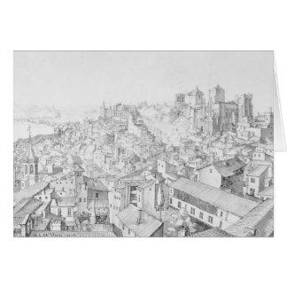 Ansicht der Stadt von Avignon und von seinen Karte