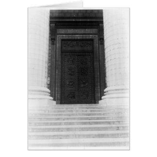 Ansicht der Tür von La Madeleine Karte