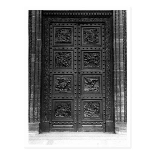 Ansicht der Tür von La Madeleine Postkarten