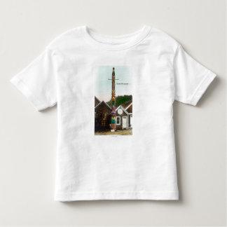 Ansicht des Raben TotempoleWrangell, AK Kleinkinder T-shirt