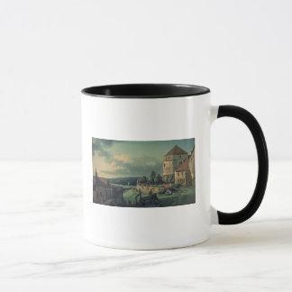 Ansicht vom Schloss, 1753-55 Tasse