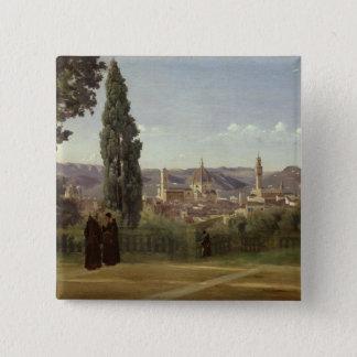 Ansicht von Florenz Quadratischer Button 5,1 Cm