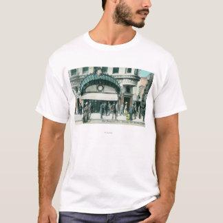 Ansicht von Kearney und von Markt-Straßenecke T-Shirt