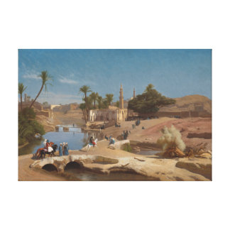Ansicht von Medinet EL-Fayoum Leinwanddrucke
