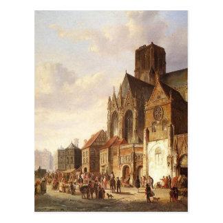 Ansicht von Montelspran durch Cornelis-Springer Postkarte
