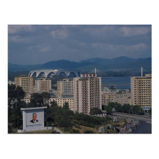 Ansicht von Pjöngjang, Nordkorea Postkarte
