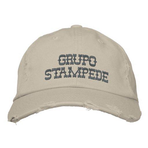 Ansturm gestickter Hut Bestickte Mütze