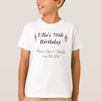 Anthonys - Ullas 70. Geburtstag T-Shirt