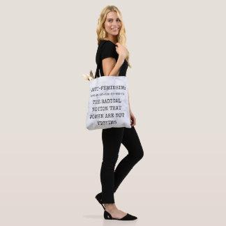 Anti-Feministische Taschen-Tasche, die Rechte der