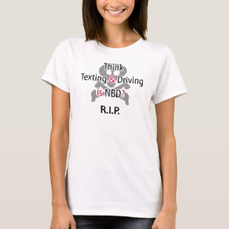 Anti-Simsen Sie beim Fahren T-Shirt