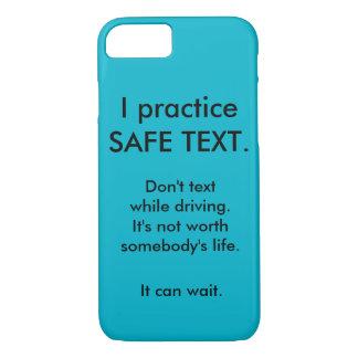 Anti simsen Sie beim Fahren von iphone Fall iPhone 8/7 Hülle