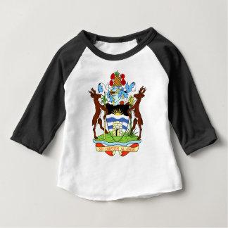 Antigua- und Barbados-Staatsangehörig-Siegel Baby T-shirt