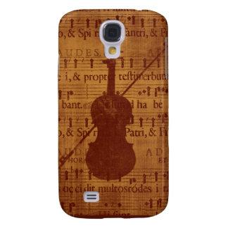 Antike Blick Violine Galaxy S4 Hülle