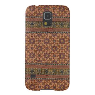 Antiker maurischer Silk Entwurfs-Telefon-Kasten Galaxy S5 Hüllen