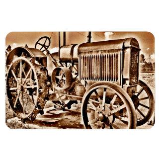 Antiker Traktor-landwirtschaftliche Maschine-Klass Flexible Magnete