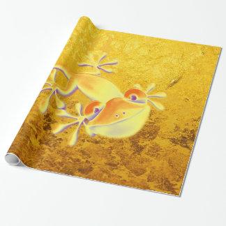 Antikes Kunst-Verzierungs-Muster + Lächelnder Einpackpapier