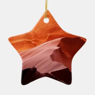 Antilopen-Schlucht Keramik Stern-Ornament