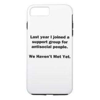 Antisoziale Gruppe iPhone 7 Plus Hülle