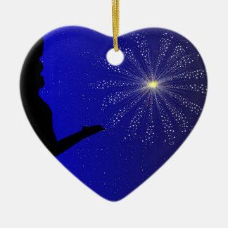 Antrag der Heirat Keramik Herz-Ornament