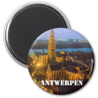 Antwerpen Runder Magnet 5,7 Cm