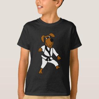 ANZEIGE Kampfkunst-Hündchen T-Shirt