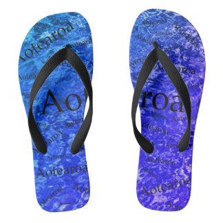 Aotearoa drehen Reinfälle um Flip Flops