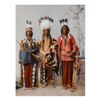 Apache-Leiter Garfield Ouche Te Foya 1899 Postkarten