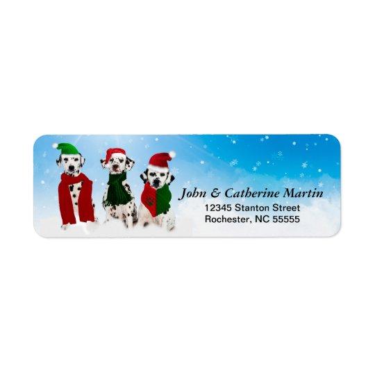 APAL - Weihnachtsdalmatinische Hunde im Schnee
