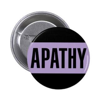 Apathie Runder Button 5,1 Cm