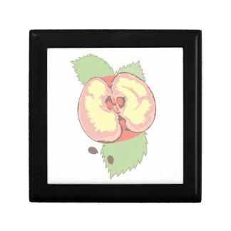 Äpfel Kleine Quadratische Schatulle