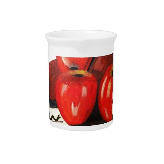 Äpfel Krug