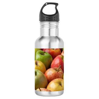 Äpfel - reif u. bunt trinkflasche
